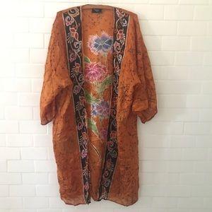Tops - Vintage silk Kimono
